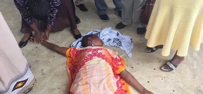 Photos: Mother of slain Kwale girl shocked by sentence, faints in court