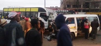 Matatu Driver's Leg Dismembered In Dawn Accident In Nairobi