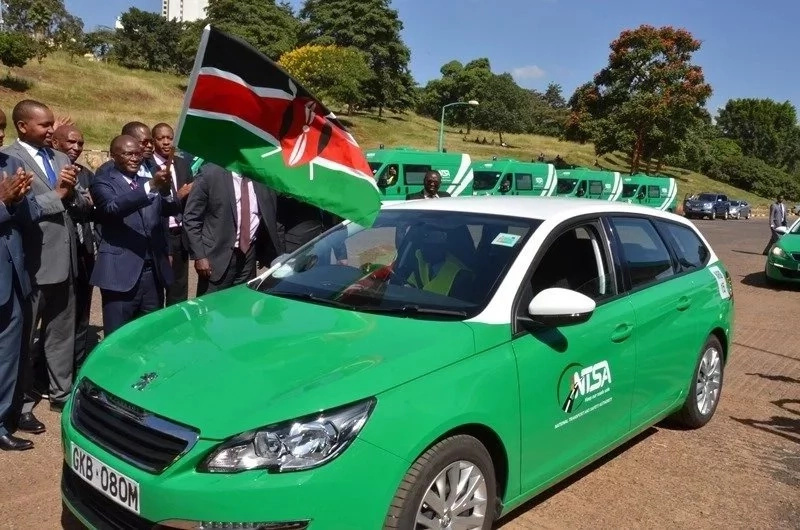 police welcome the ban of ntsa from Kenyan roads