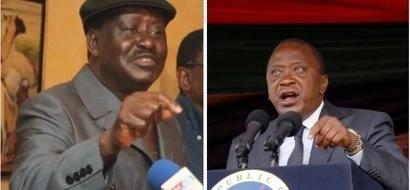 Raila sasa ni maarufu kuliko Uhuru – kura mpya ya maoni