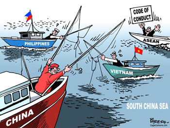 China rejects Tribunal's ruling over South China Sea