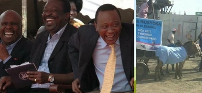 Machakos MCA aspirant pulls a shocker on residents after doing this on his campaigns (photo)
