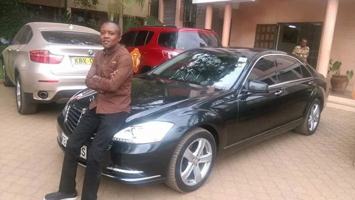 Did Maina Kageni buy a new Mercedes Benz to add to his long fleet of cars?