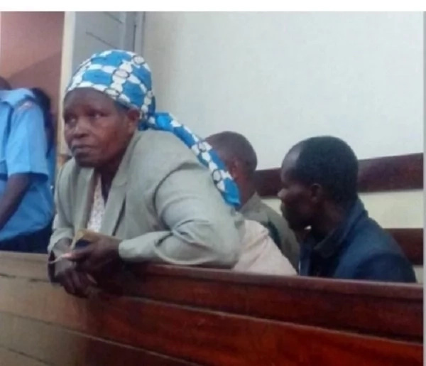 Female preacher caught urinating behind chiefs office in Kamukunji
