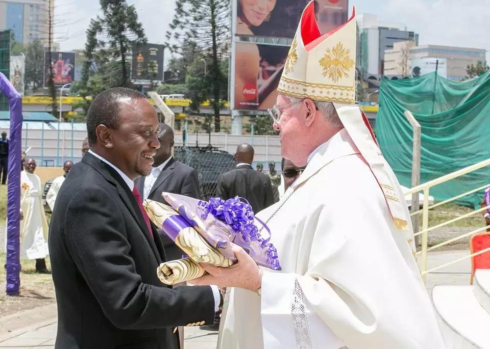 As NASA was tearing Jubilee apart in Eldoret, this is what Uhuru was up to