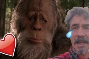 This guy caught Bigfoot masturbating and almost got raped!