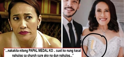 Magpakita na mga 'Honesto!' Ai-Ai Delas Alas pleads for the return of her papal medal, lost during wedding ceremonies!