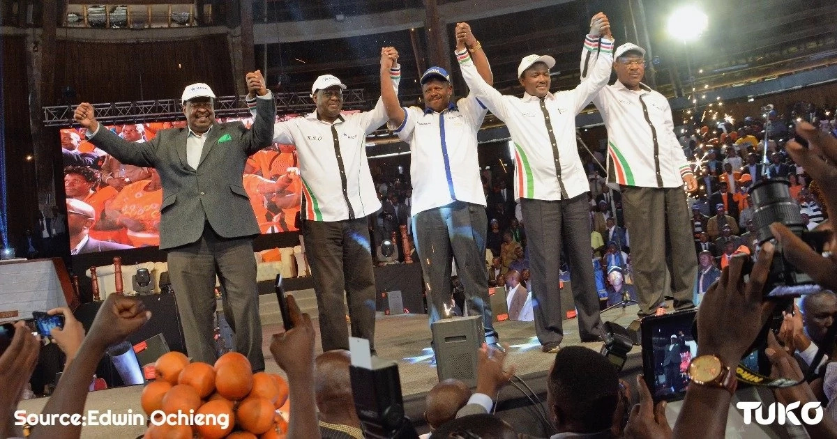 NASA fails to name flag bearer and Kenyans cannot be contained