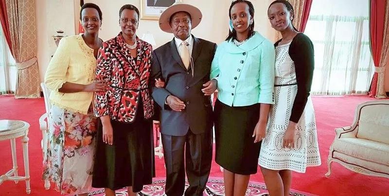 Mabinti wa Rais Museveni wote walifunga harusi wakiwa bikira- Mkewe Rais Museveni aeleza
