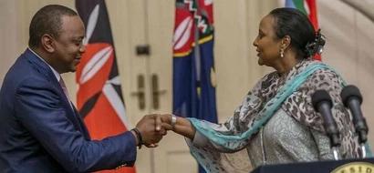 Waziri Amina apokelewa kwa shangwe licha ya KUSHINDWA kwenye uchaguzi wa AU (video)