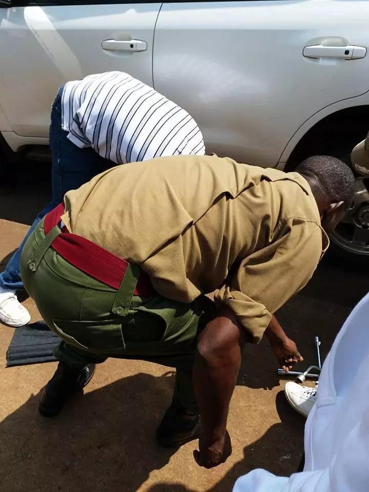 Mwanamuziki Akothee aponea kifo katika ajali ya kushtua