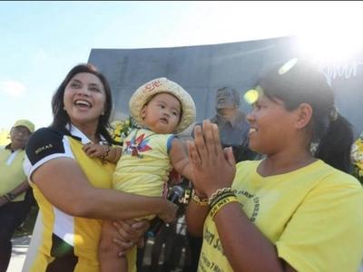 WATCH: Sumilao farmers support Roxas-Robredo