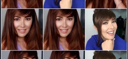 Ang taray! Ruffa Gutierrez is looking young in her new hairstyle