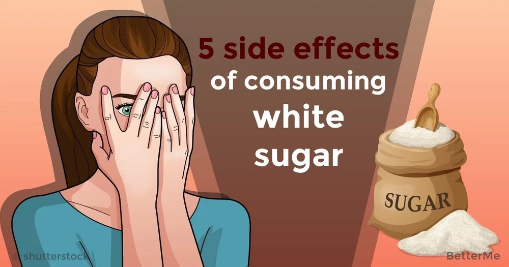 5 side effects of consuming white sugar