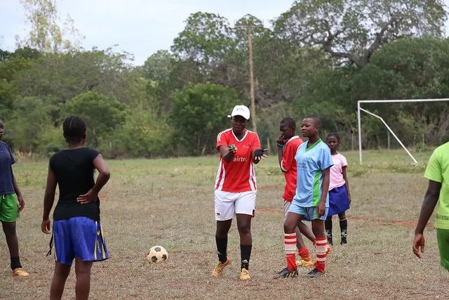 See how girls in Kenya's Kilifi County develop essential life skills through football (photos)