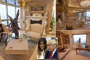 Super exquisite photos of Donald Trump's luxurious house that prove he is richer than life