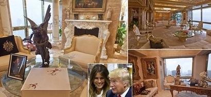 Wajua makao ya kifalme anamoishi Donald Trump? (picha)