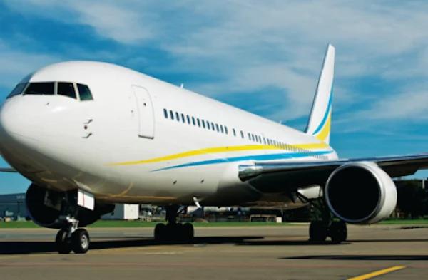 The luxury Comlux 767 Boeing Business Jet