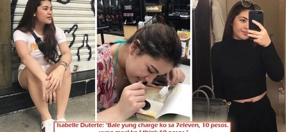 "Shangri-La to 7-11? Vice Mayor Paolo Duterte's daughter, Isabelle, presenting herself as ""mahirap"" with her latest 7-11 photo after viral Gucci pics?"