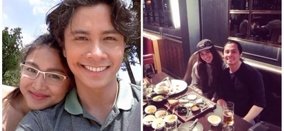 Na-miss nila ang isa't-isa! Nadine Lustre spotted in a friendly date with 'Till I Met You' co-star JC Santos