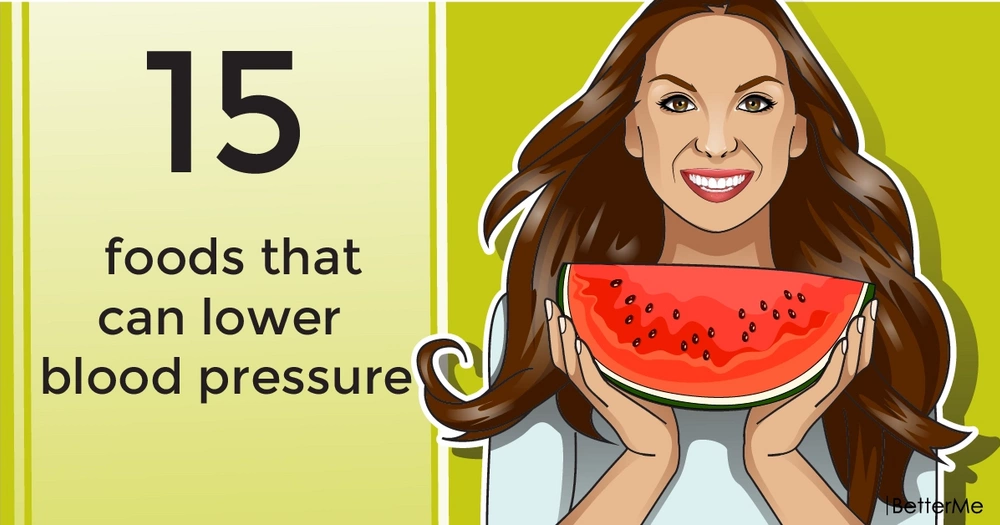 15 foods that can lower blood pressure