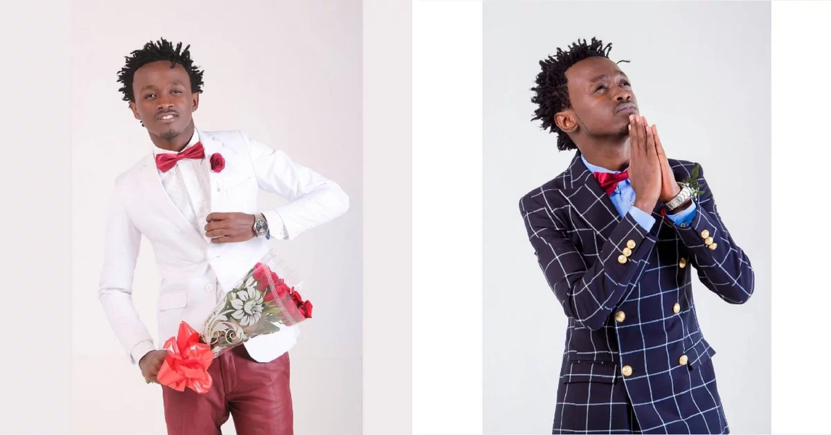 Youngest gospel artiste in Kenya stuns with his suit game