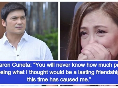 Nag bati-away sila! Netizens react to Sharon Cuneta and Gabby Concepcion unfollowing each other on Instagram