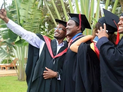 Kalonzo Musyoka graduates with a master in law but has this message for DP Ruto after he failed to graduate from the University of Nairobi (photos)