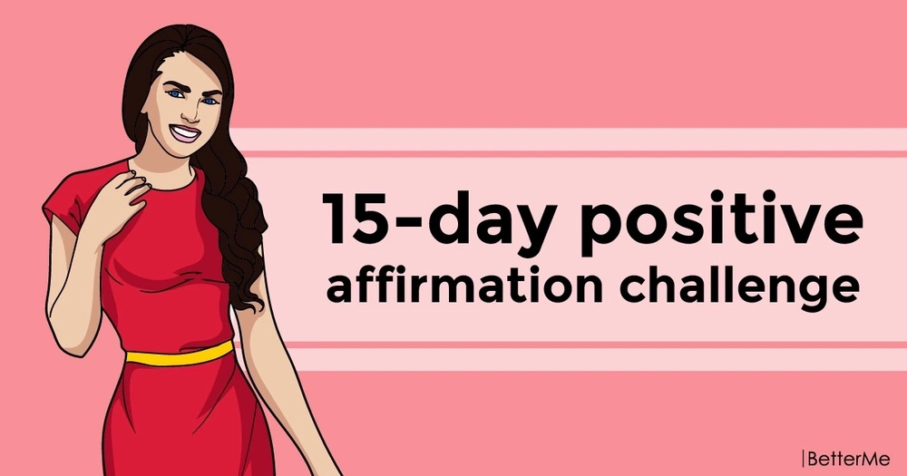 15-day positive affirmation challenge