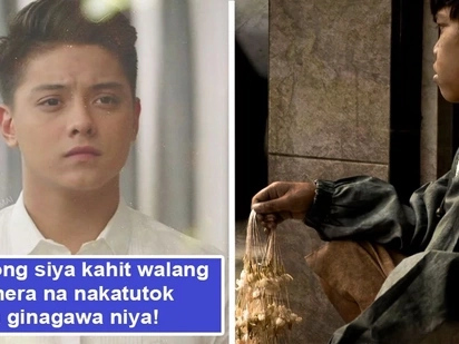 Di pakitang-tao ang kabutihan niya! Daniel Padilla earns praises from netizens after purposefully hiding from cameras when he helped sampaguita vendor