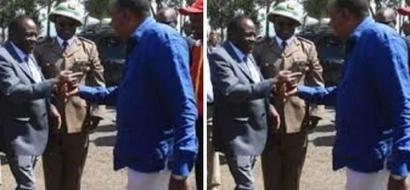 President Uhuru and DP Ruto pay glowing tributes to the late Nyeri Governor Nderitu Gachagua