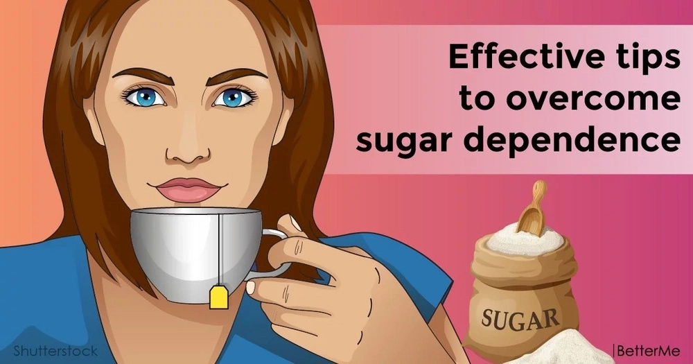 Effective tips to overcome sugar dependence
