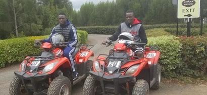 Victor Wanyama visits prisoners at Kamiti Maximum Prison (photos)