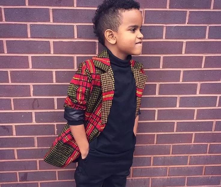 Kitenge fashion for children