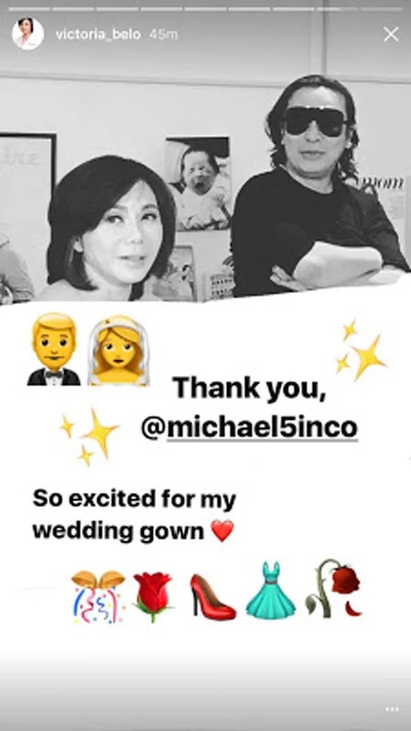 Michael Cinco to design wedding gown of Dr. Vicki Belo