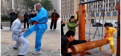 Meet Kung-Fu master who withstands blows to his CROTCH, says it enhances his performance (photos, video)