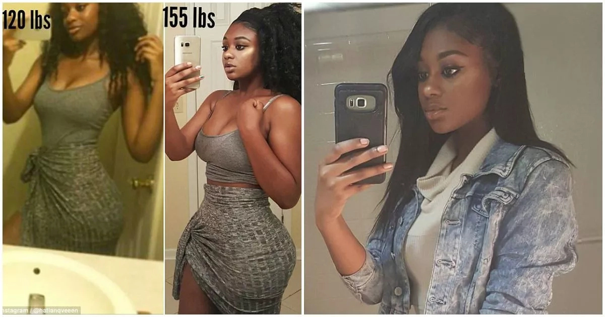 Stunning fitness blogger who suffered weight loss after breakup shows off her curves after gaining 15 kg