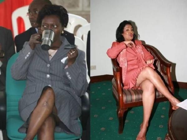 Martha Karua aketi chini, asijue sketi imefunguka!