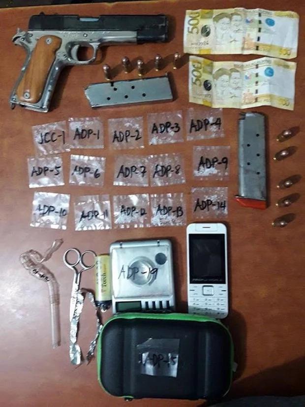 Fake police officer who sells shabu arrested