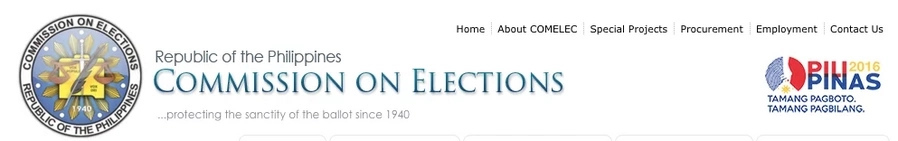 Commission On Elections Website Hacked