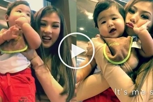 Baby Seve and Alex Gonzaga star in their own amusing and entertaining show on Instagram