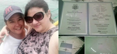 Tuloy na tuloy na! Rosanna Roces set to marry lesbian lover in December, shows wedding invitation on Facebook