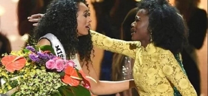 Everyone is shocked when Miss USA 2016 showed up for her final walk