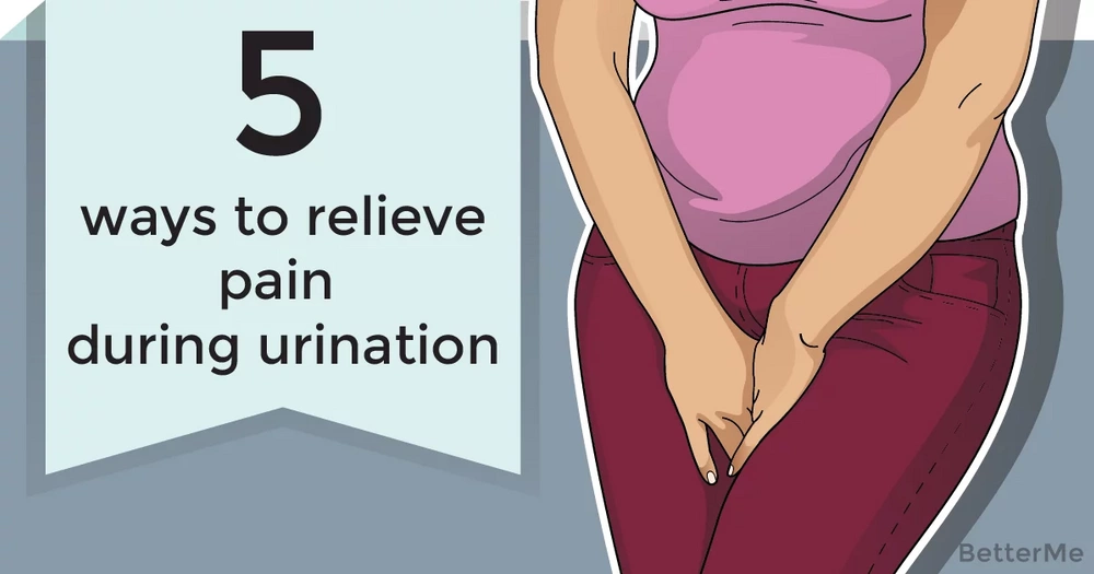 5 ways to relieve pain during urination