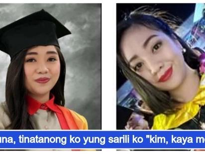 Working student na ilang beses nang muntik sukuan ang trabaho at pag-aaral, ngayon, graduate na