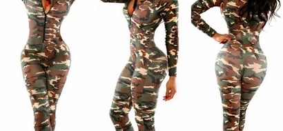 12 Hot ladies step out in military camouflage as we celebrate KDF Day