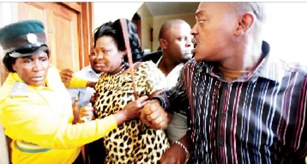 #TBT Kidero slaps women rep, Rachel Shebesh