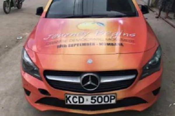 ODM branded vehicles unveiled in Mombasa County