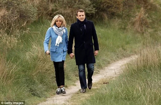 Their relationship at first shocked Macron's parents, but they soon accepted it