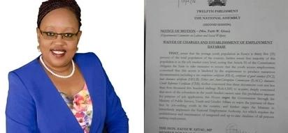 Ikiwa mswada huu utapita Bungeni basi wanaosaka kazi watapata afueni